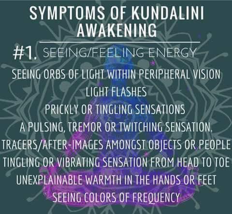 Symptoms of kundalini awakening - Meditation, Consciousness