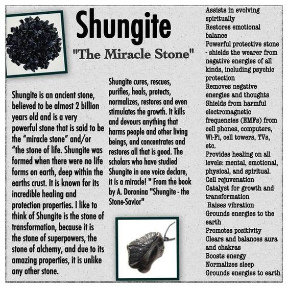 Shungite - The Miracle Stone and How to make your own