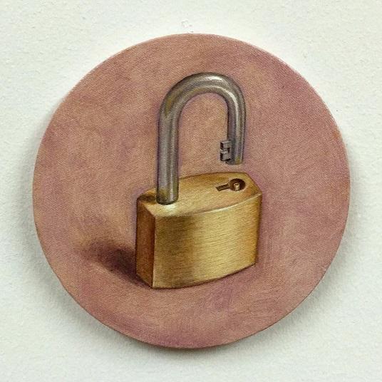 Strange-loop-tondos-padlock-self-unlocking-marcus-pierce-artist-painting-oil-painter-new-york-manhattan-brooklyn-paradox-consciousness-cognitive-science-2.jpg