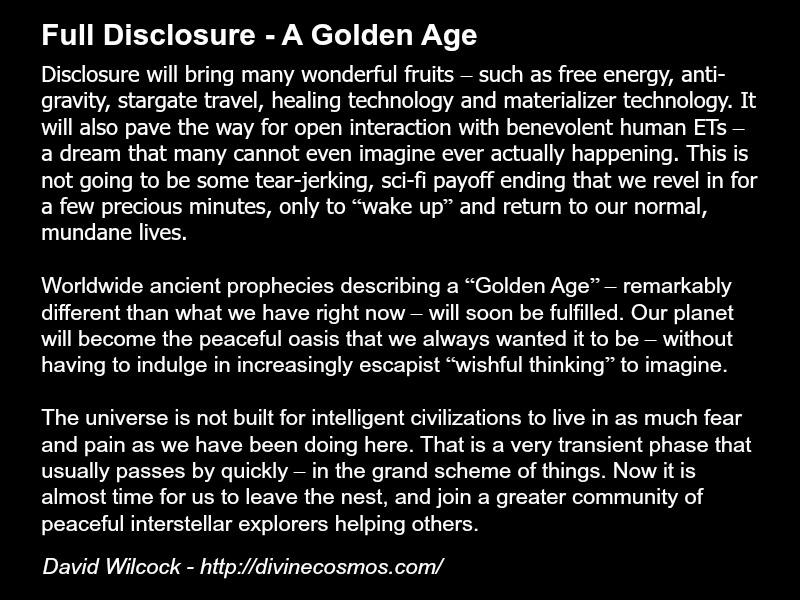 David Wilcock quote disclosure ascension metaphysics spirituality extraterrestrials aliens technology.jpg